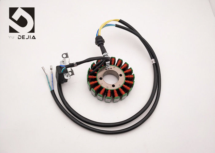 Long Life DC Motorcycle Magneto Stator CG125 18 Windings Work  under 200W