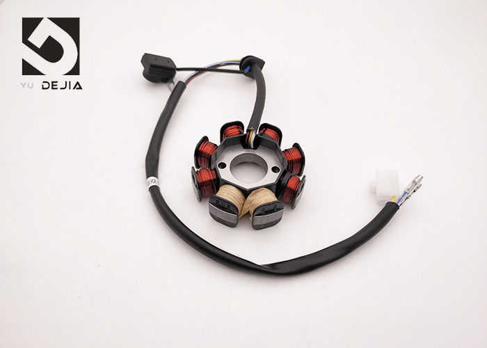 GY50 Motorcycle 8 Coil Stator , Double Charge Small Engine Stator Motorcycle Parts